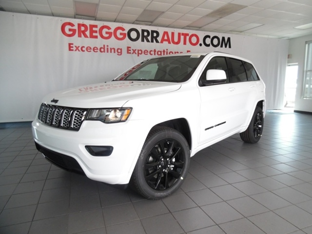 new 2017 jeep grand cherokee altitude suv for sale hc851473 gregg orr auto. Black Bedroom Furniture Sets. Home Design Ideas