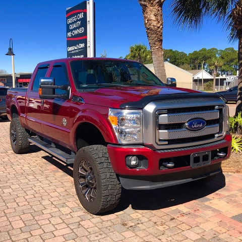 pre owned 2016 ford f 250 platinum crew cab for sale p3240a gregg orr auto. Black Bedroom Furniture Sets. Home Design Ideas