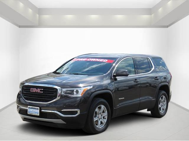 Certified Pre Owned 2017 Gmc Acadia Sle Sport Utility For Sale