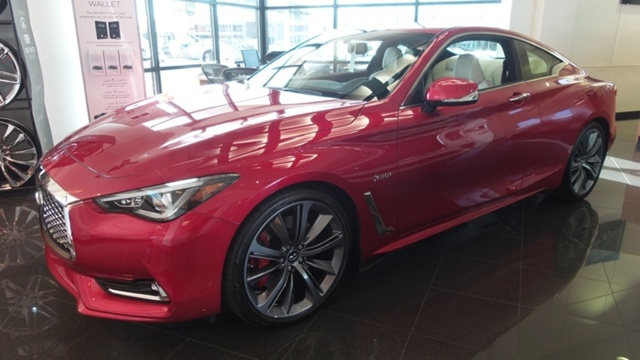 New 2018 Infiniti Q60 3 0t Red Sport 400 Compact For Sale