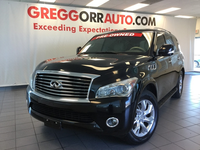 Pre Owned 2017 Infiniti Qx56 4dr 4wd